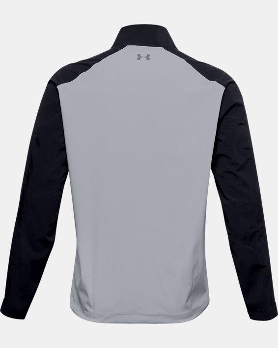 Herren UA Golf Regenjacke, Gray, pdpMainDesktop image number 4