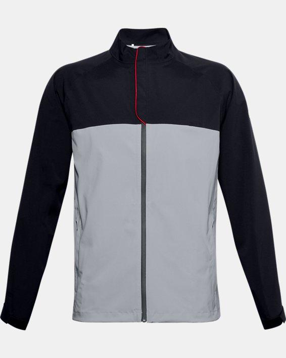 Herren UA Golf Regenjacke, Gray, pdpMainDesktop image number 3