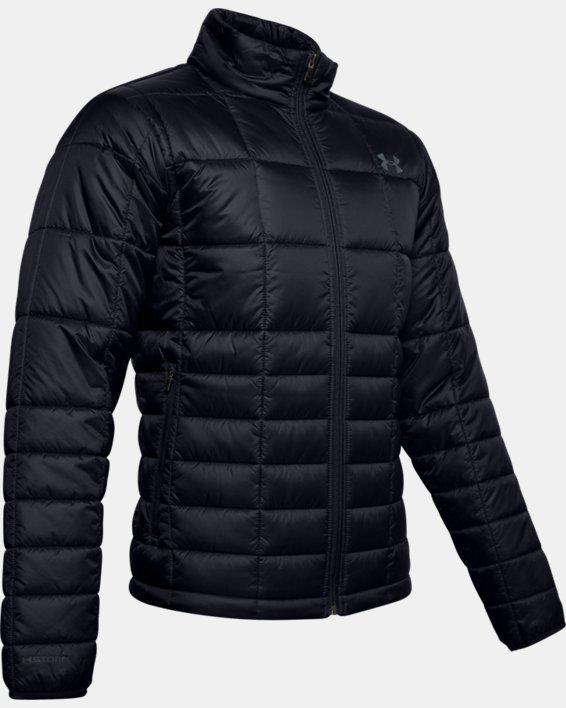 Men's UA Armour Insulated Jacket, Black, pdpMainDesktop image number 3