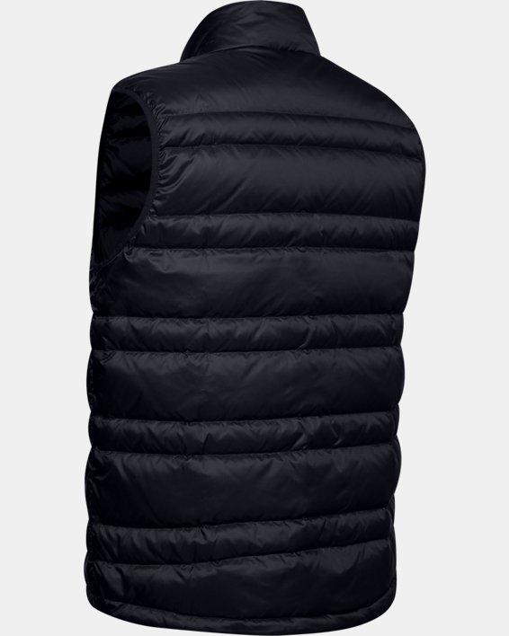 Men's UA Armour Down Vest, Black, pdpMainDesktop image number 5