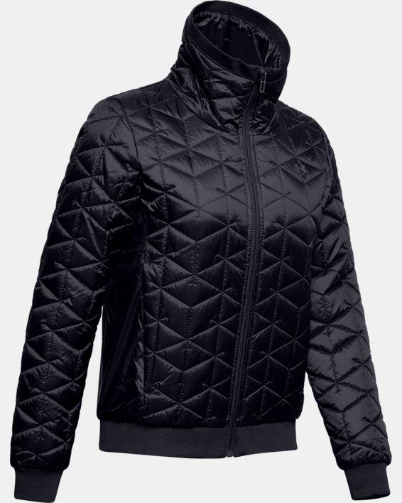 Women's ColdGear® Reactor Performance Jacket, Black, pdpMainDesktop image number 3