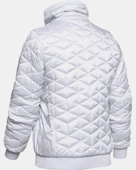 Women's ColdGear® Reactor Performance Jacket, White, pdpMainDesktop image number 4