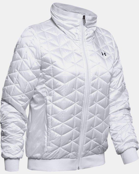 Women's ColdGear® Reactor Performance Jacket, White, pdpMainDesktop image number 3