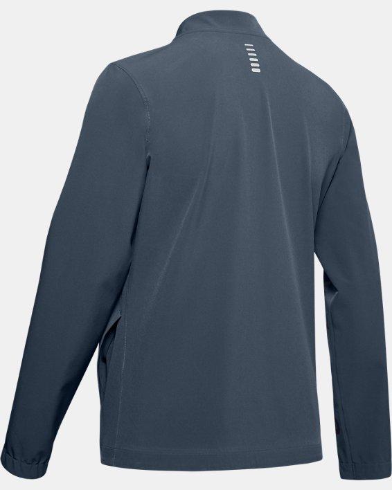 Women's UA Storm Launch Linked Up Jacket, Gray, pdpMainDesktop image number 4