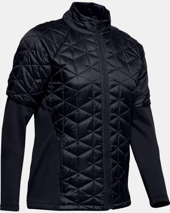 Women's ColdGear® Reactor Golf Hybrid Jacket, Black, pdpMainDesktop image number 5