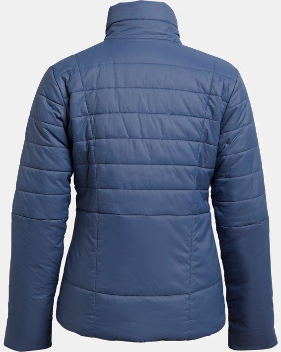 Women's UA Armour Insulated Jacket, Blue, pdpMainDesktop image number 4