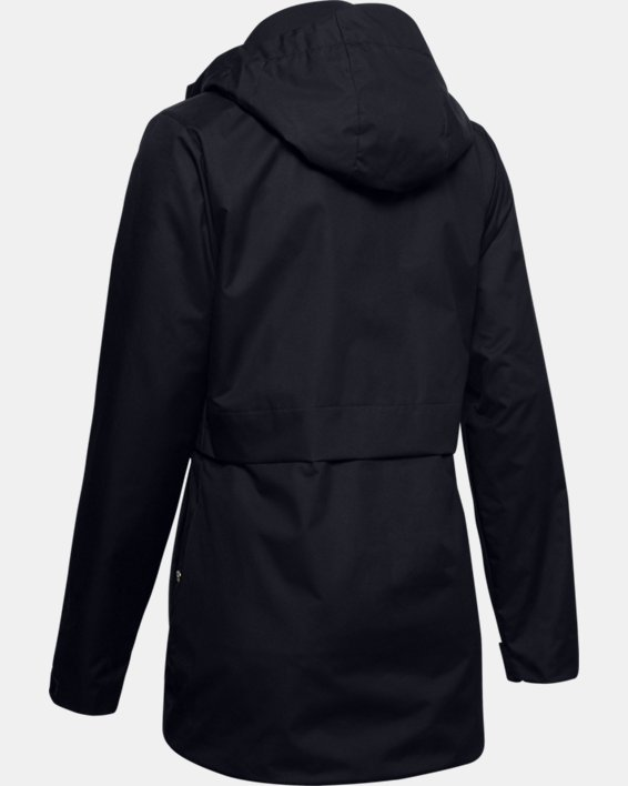 Women's UA Armour 3-in-1 Jacket, Black, pdpMainDesktop image number 4