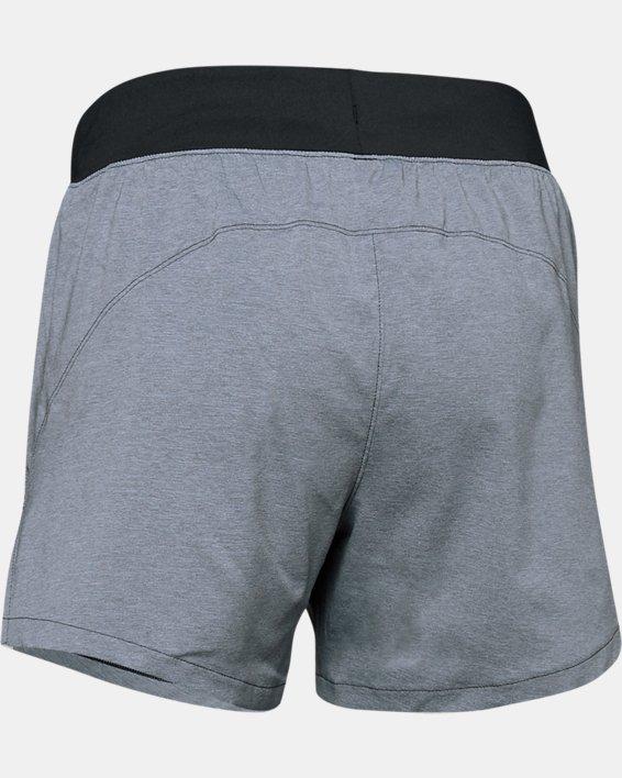 Women's UA Launch SW ''Go Long'' Shorts, Black, pdpMainDesktop image number 6