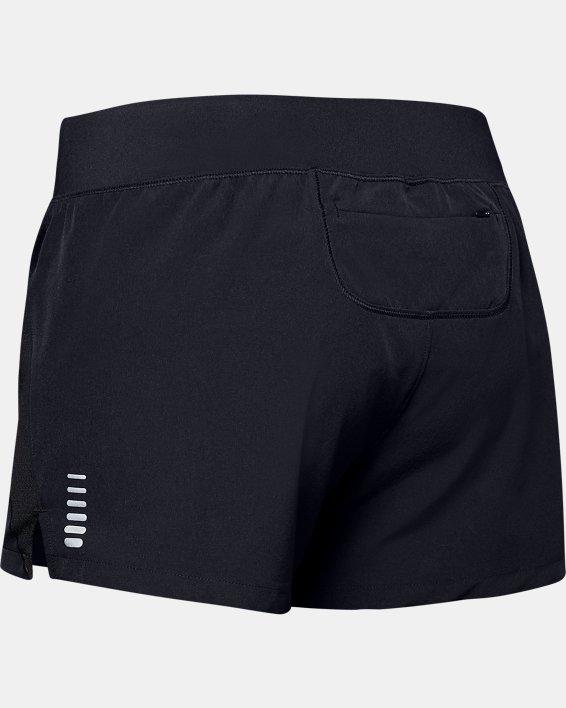 Pantalón corto UA Qualifier Speedpocket para mujer, Black, pdpMainDesktop image number 4