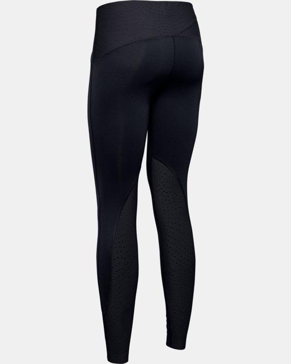 Women's UA Qualifier Speedpocket ColdGear® Tights, Black, pdpMainDesktop image number 4