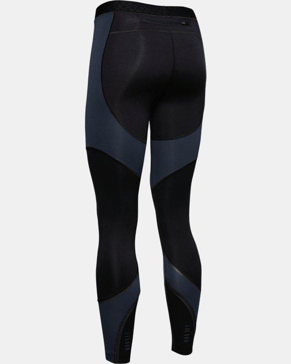 Women's UA RUSH™ ColdGear® Run Tights, Black, pdpMainDesktop image number 4
