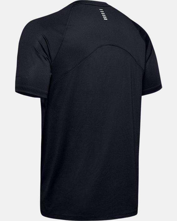 Men's UA Qualifier Glare Short Sleeve, Black, pdpMainDesktop image number 5