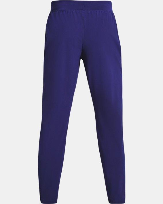 Men's UA Storm Launch 2.0 Pants, Blue, pdpMainDesktop image number 4