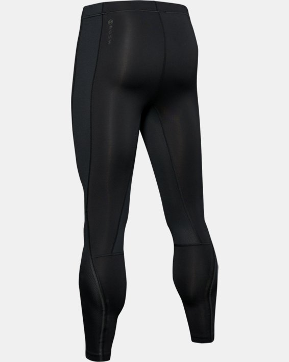 Men's UA RUSH™ ColdGear® Run Tights, Black, pdpMainDesktop image number 5