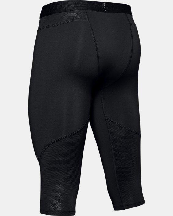 Men's UA RUSH™ Select Knee Tights, Black, pdpMainDesktop image number 5