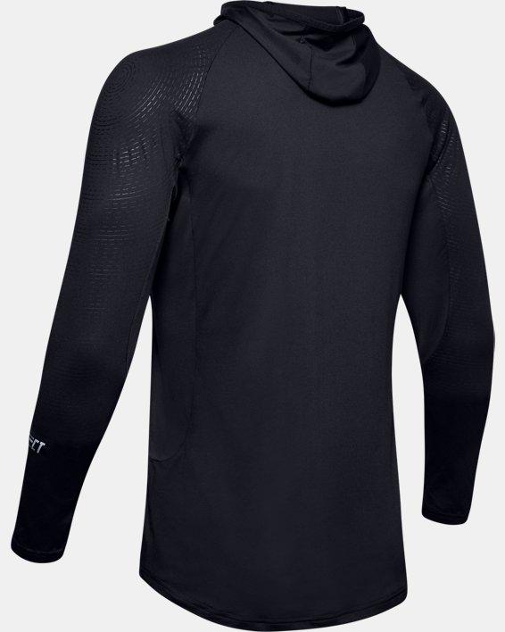 Men's UA Select Long Sleeve Shooting Shirt, Black, pdpMainDesktop image number 4