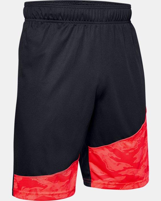 """Men's UA Baseline 10"""" Shorts, Black, pdpMainDesktop image number 4"""