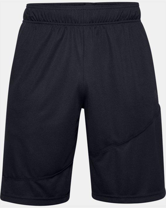 """Men's UA Baseline 10"""" Shorts, Black, pdpMainDesktop image number 3"""