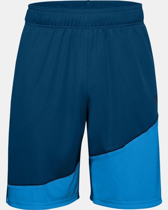 """Men's UA Baseline 10"""" Shorts, Blue, pdpMainDesktop image number 2"""