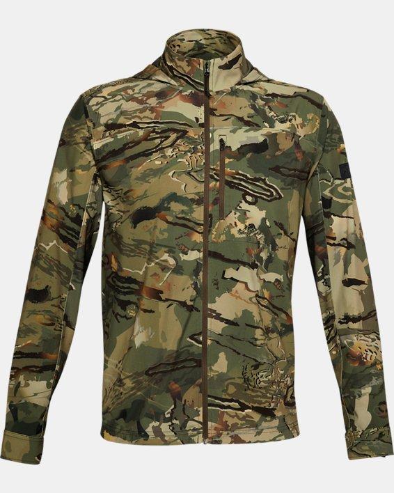 Men's UA Backwoods Hybrid Jacket, Camo, pdpMainDesktop image number 3