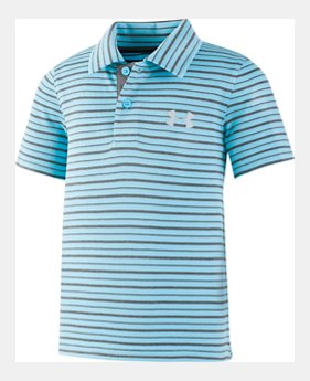 a8cd2b5e Boys' Pre-School UA Champion Stripe Polo 2 Colors Available $29