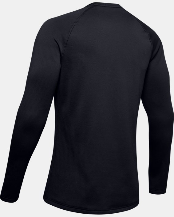 Herren ColdGear® Base3.0 Shirt mit Rundhalsausschnitt, Black, pdpMainDesktop image number 6