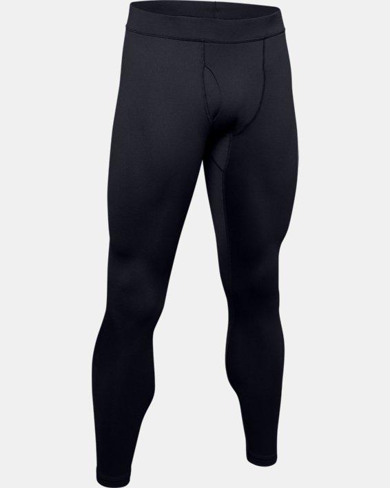 Men's ColdGear® Base 3.0 Leggings, Black, pdpMainDesktop image number 4