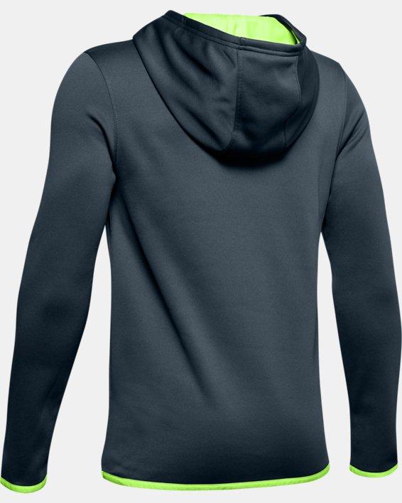 Boys' Armour Fleece® Logo Hoodie, Gray, pdpMainDesktop image number 1