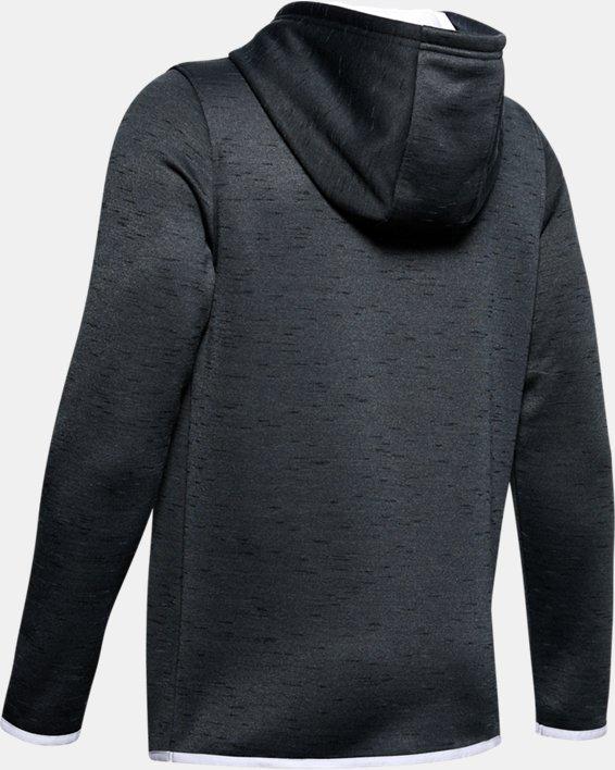 Sweat à capuche Armour Fleece® Branded pour garçon, Black, pdpMainDesktop image number 5