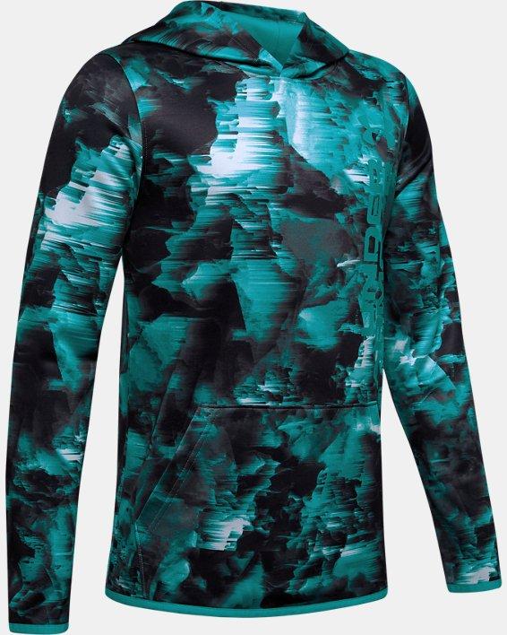 Boys' Armour Fleece® Novelty Hoodie, Gray, pdpMainDesktop image number 4