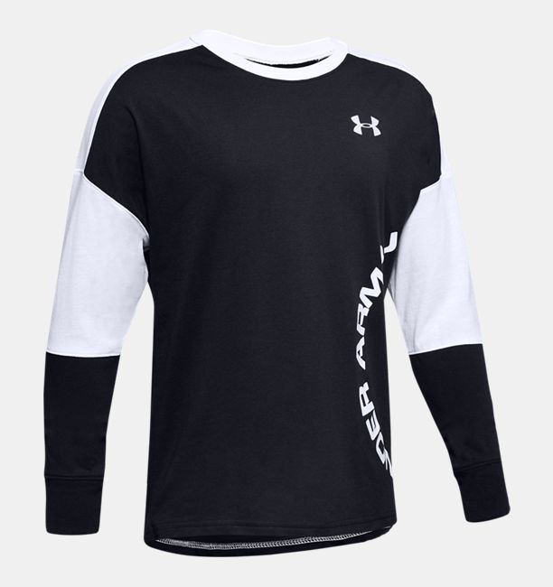 3f12403bed Boys' UA Sportstyle Color Blocked Long Sleeve