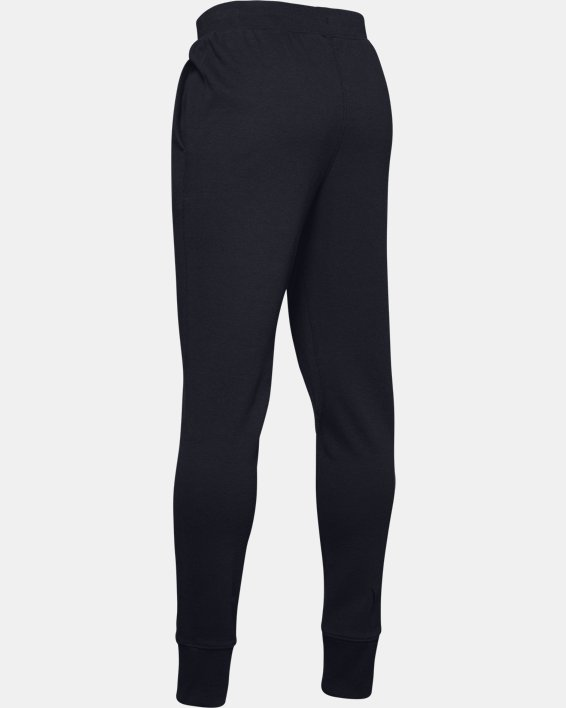 Boys' UA Unstoppable Double Knit Pants, Black, pdpMainDesktop image number 5
