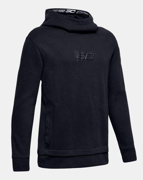 Boys' SC30 Sportstyle Warm Up Top, Black, pdpMainDesktop image number 0