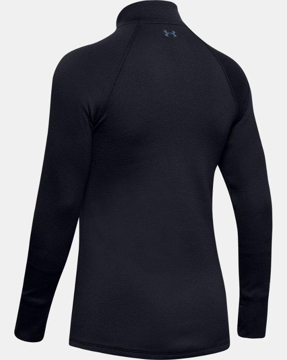 Women's ColdGear® Base 4.0 ½ Zip, Black, pdpMainDesktop image number 5
