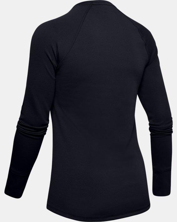 Maglia ColdGear® Base 2.0 da donna, Black, pdpMainDesktop image number 6