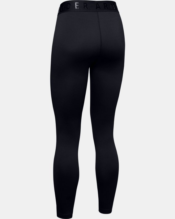 Women's ColdGear® Base 3.0 Leggings, Black, pdpMainDesktop image number 5