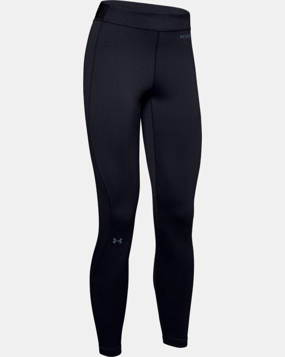 Women's ColdGear® Base 3.0 Leggings, Black, pdpMainDesktop image number 4
