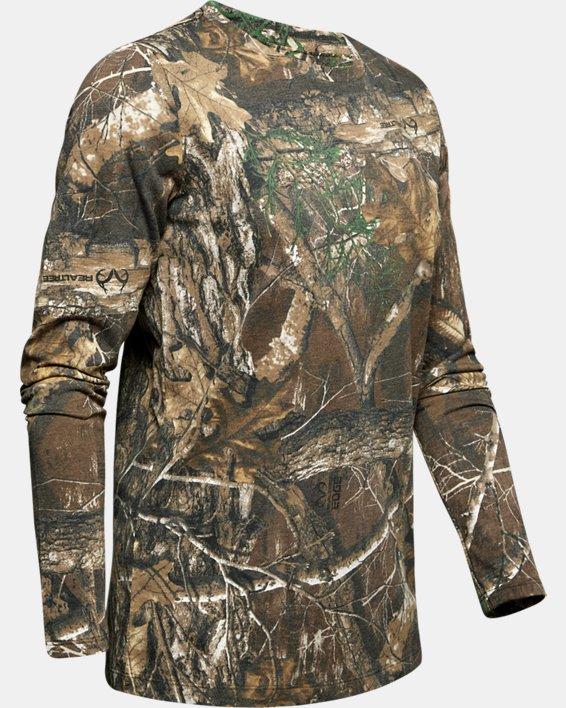 Women's UA Scent Control Camo Long Sleeve T-Shirt, Misc/Assorted, pdpMainDesktop image number 4