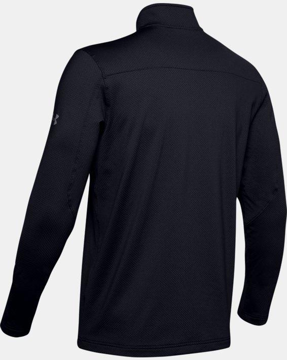 UA LW ¼ Zip pour hommes, Black, pdpMainDesktop image number 5