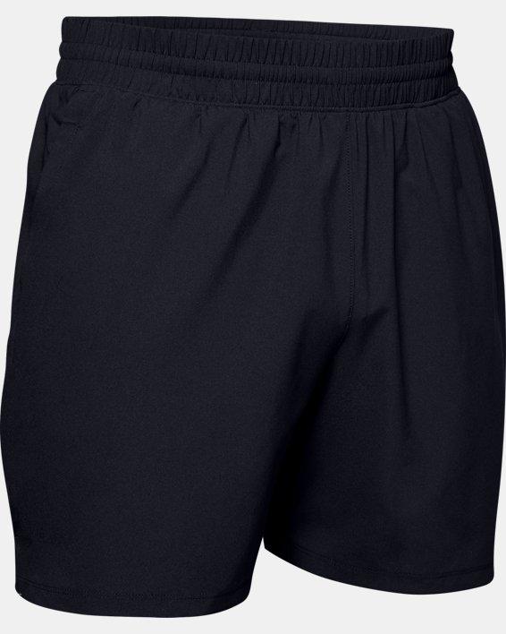 Men's UA Tactical PT Shorts, Black, pdpMainDesktop image number 4