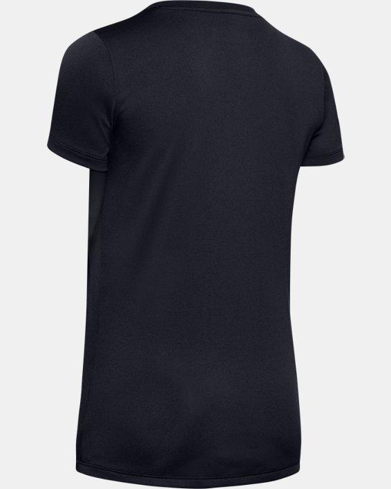 Women's UA Tactical Tech™ Short Sleeve, Black, pdpMainDesktop image number 5