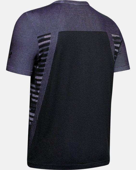 Boys' UA Seamless T-Shirt, Black, pdpMainDesktop image number 1