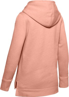 Under Armour Rival Print Fill Logo Hoodie Haut Fille