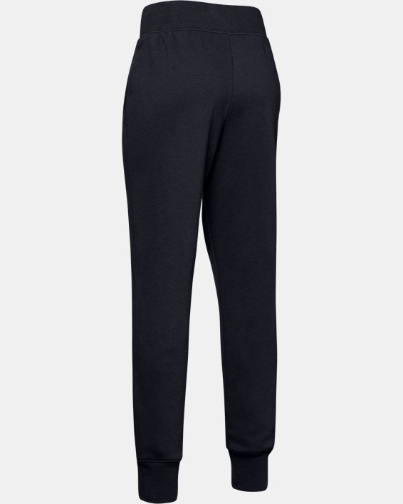 Girls' UA Rival Joggers, Black, pdpMainDesktop image number 5