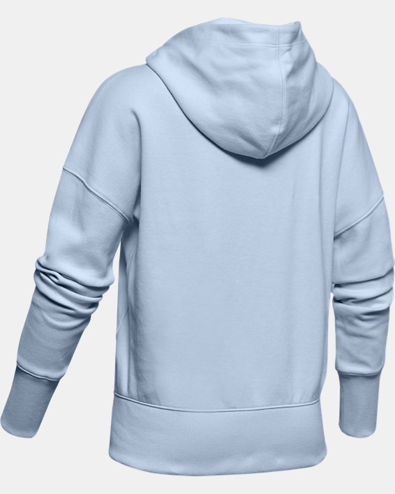 Girls' UA Unstoppable Double Knit Hoodie, Blue, pdpMainDesktop image number 1