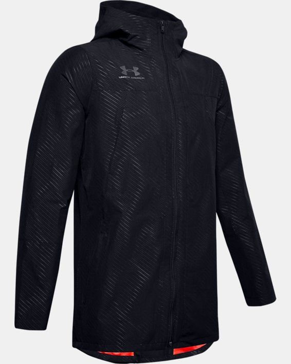 Men's UA Accelerate Terrace Jacket II, Black, pdpMainDesktop image number 3