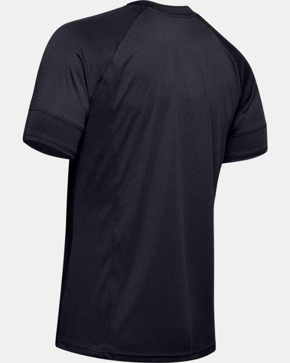 Men's UA Challenger III Training Short Sleeve, Black, pdpMainDesktop image number 6