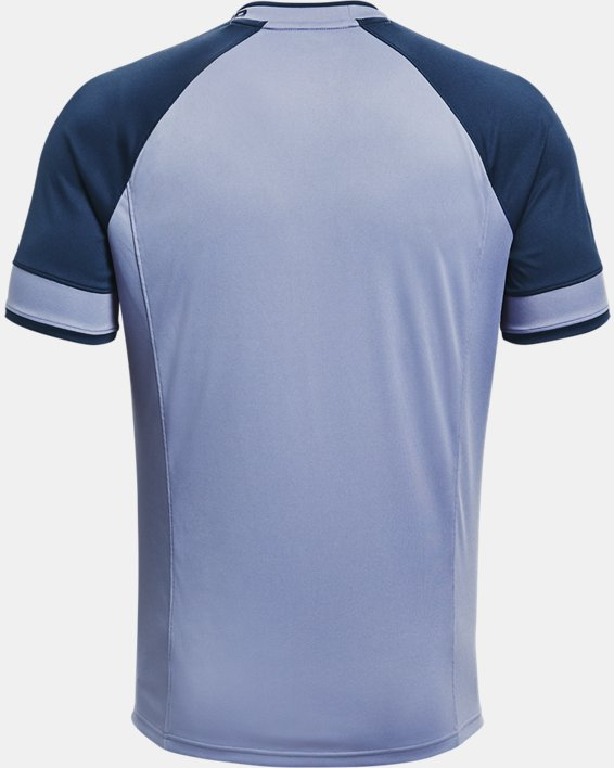 Men's UA Challenger III Training Short Sleeve, Blue, pdpMainDesktop image number 4