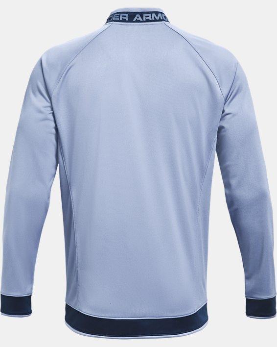 Men's UA Challenger III Jacket, Blue, pdpMainDesktop image number 4