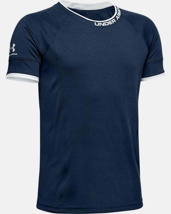 Boys' UA Challenger III Training Shirt, Navy, pdpMainDesktop image number 0